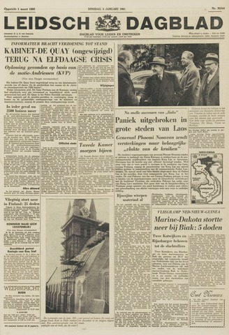 Leidsch Dagblad 1961-01-03