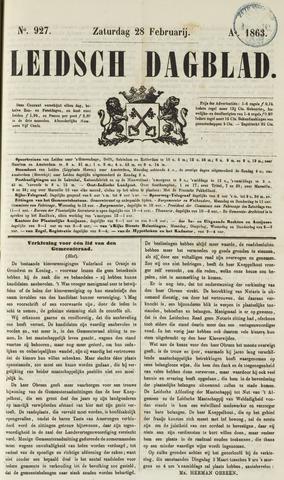 Leidsch Dagblad 1863-02-28