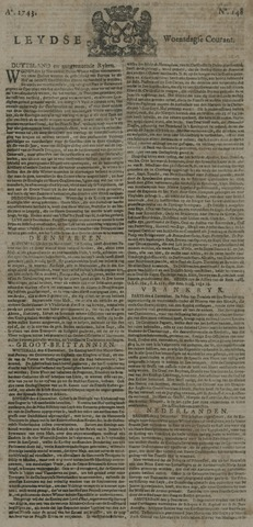 Leydse Courant 1743-12-11