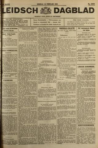 Leidsch Dagblad 1932-02-16
