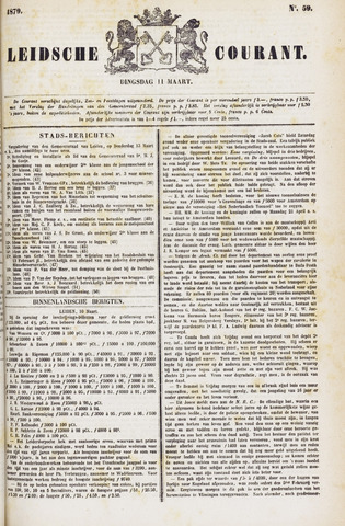 Leydse Courant 1879-03-11