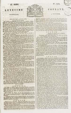 Leydse Courant 1838-10-03