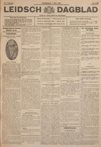 Leidsch Dagblad 1930-07-03