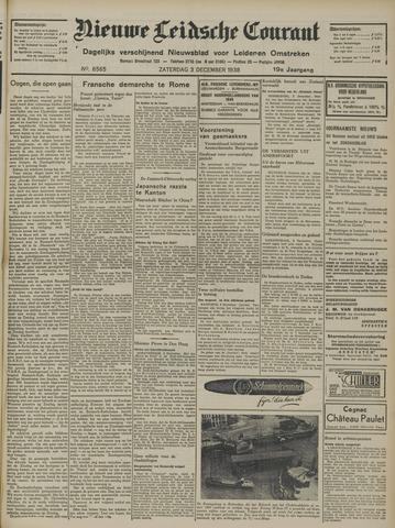 Nieuwe Leidsche Courant 1938-12-03