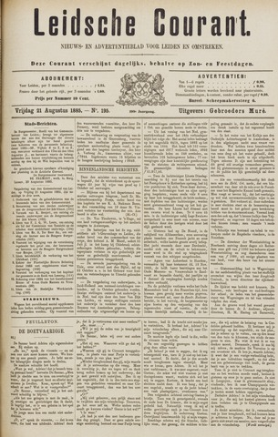 Leydse Courant 1885-08-21