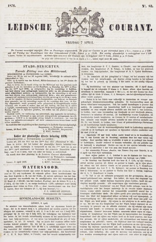 Leydse Courant 1876-04-07