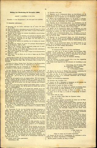 Handelingen van de Raad 1883-11-22