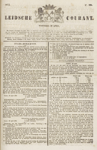 Leydse Courant 1873-04-30