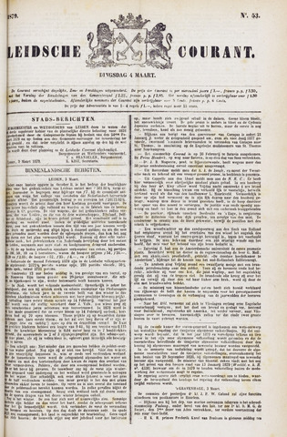 Leydse Courant 1879-03-04