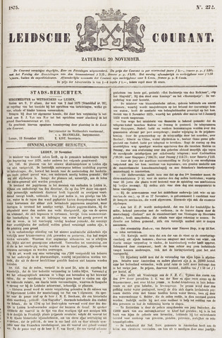 Leydse Courant 1875-11-20