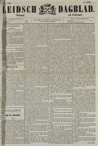 Leidsch Dagblad 1873-02-14