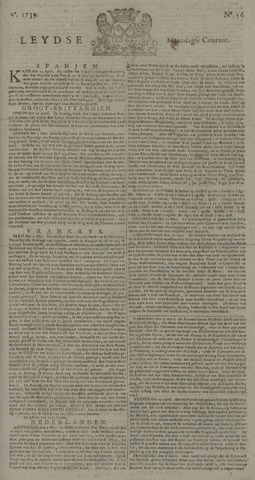 Leydse Courant 1739-05-11