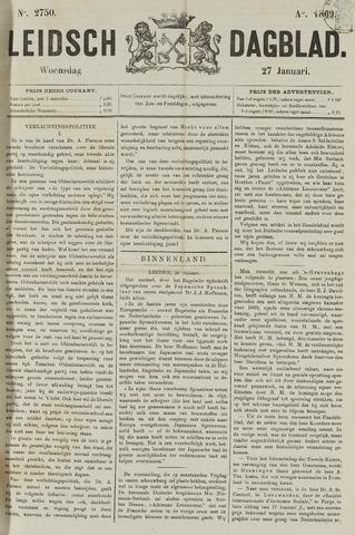 Leidsch Dagblad 1869-01-27