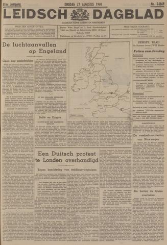 Leidsch Dagblad 1940-08-27