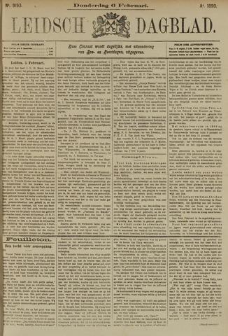 Leidsch Dagblad 1890-02-06