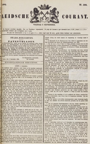 Leydse Courant 1884-09-05