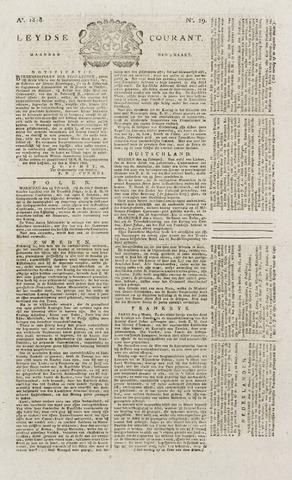 Leydse Courant 1818-03-09
