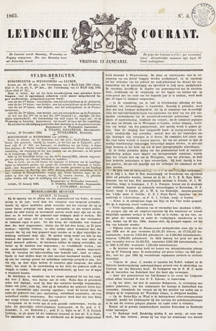 Leydse Courant 1865-01-13