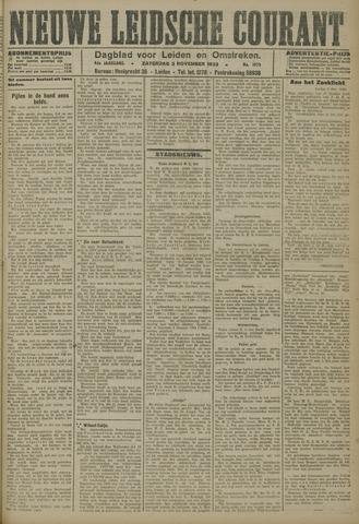 Nieuwe Leidsche Courant 1923-11-03