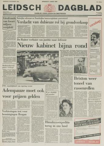 Leidsch Dagblad 1982-11-02