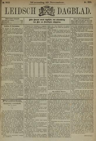 Leidsch Dagblad 1890-11-19