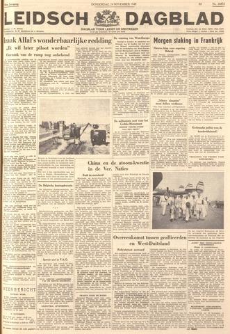 Leidsch Dagblad 1949-11-24