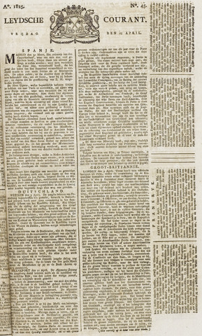 Leydse Courant 1825-04-15