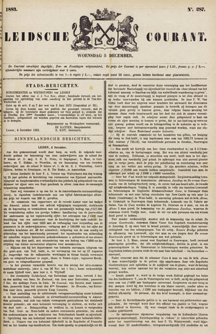 Leydse Courant 1883-12-05