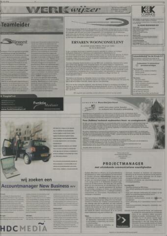 sollicitatiebrief woonconsulent Leidsch Dagblad | 1 mei 2004 | pagina 23   Historische Kranten  sollicitatiebrief woonconsulent