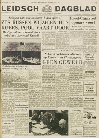 Leidsch Dagblad 1962-10-25