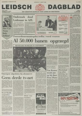 Leidsch Dagblad 1985-02-14