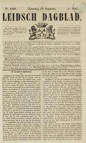 Leidsch Dagblad 1863-08-29