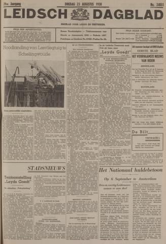 Leidsch Dagblad 1938-08-23