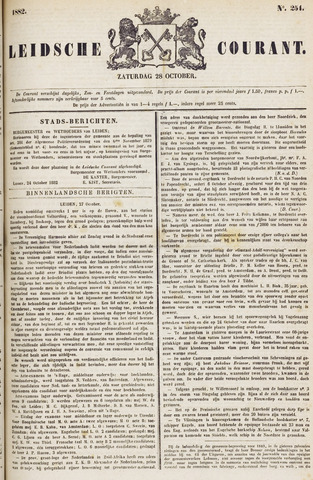 Leydse Courant 1882-10-28