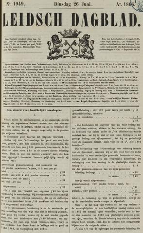 Leidsch Dagblad 1866-06-26