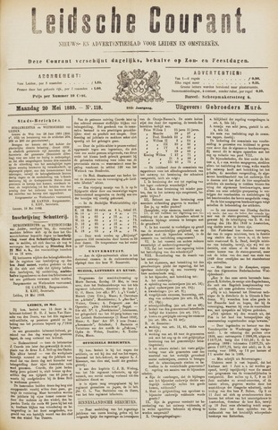 Leydse Courant 1889-05-20