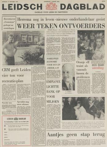 Leidsch Dagblad 1975-10-14