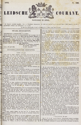 Leydse Courant 1882-04-29