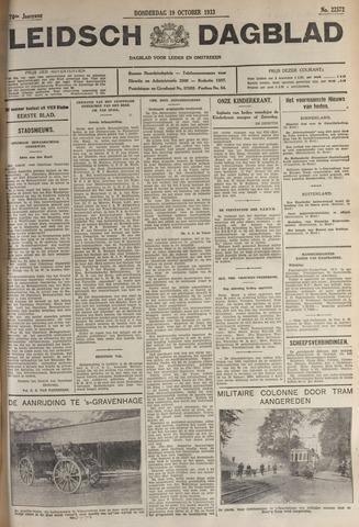 Leidsch Dagblad 1933-10-19