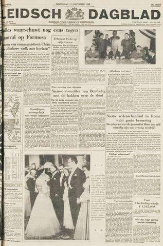 Leidsch Dagblad 1954-11-17