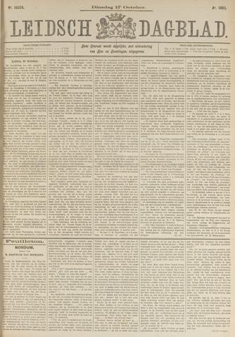 Leidsch Dagblad 1893-10-17