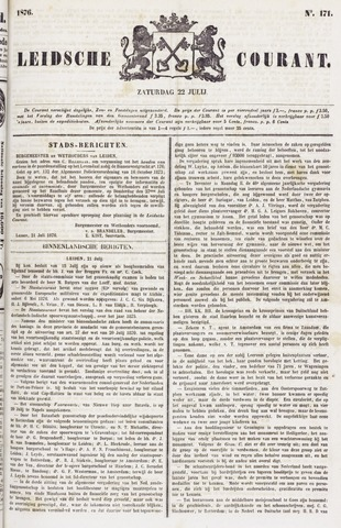 Leydse Courant 1876-07-22