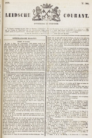 Leydse Courant 1876-12-21