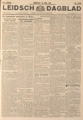 Leidsch Dagblad 1942-04-30