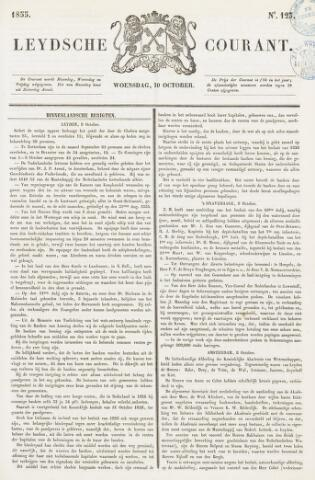 Leydse Courant 1855-10-10