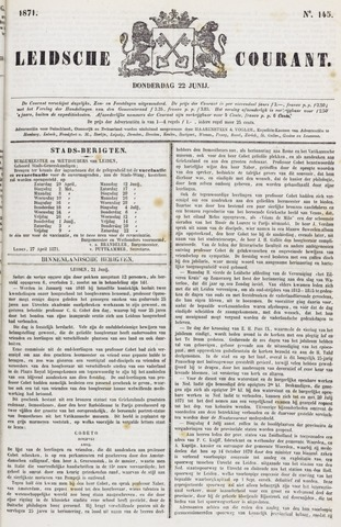 Leydse Courant 1871-06-22