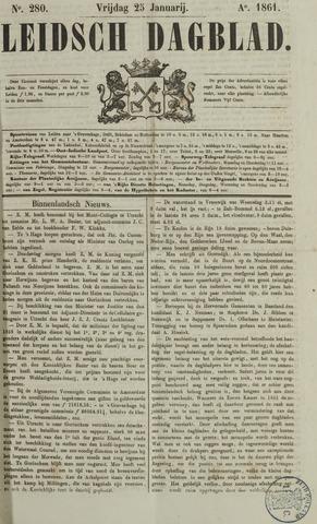 Leidsch Dagblad 1861-01-25