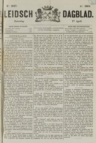 Leidsch Dagblad 1869-04-17