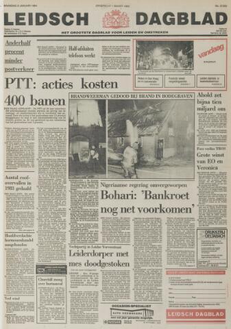 Leidsch Dagblad 1984