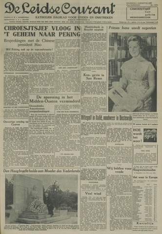 Leidse Courant 1958-08-04